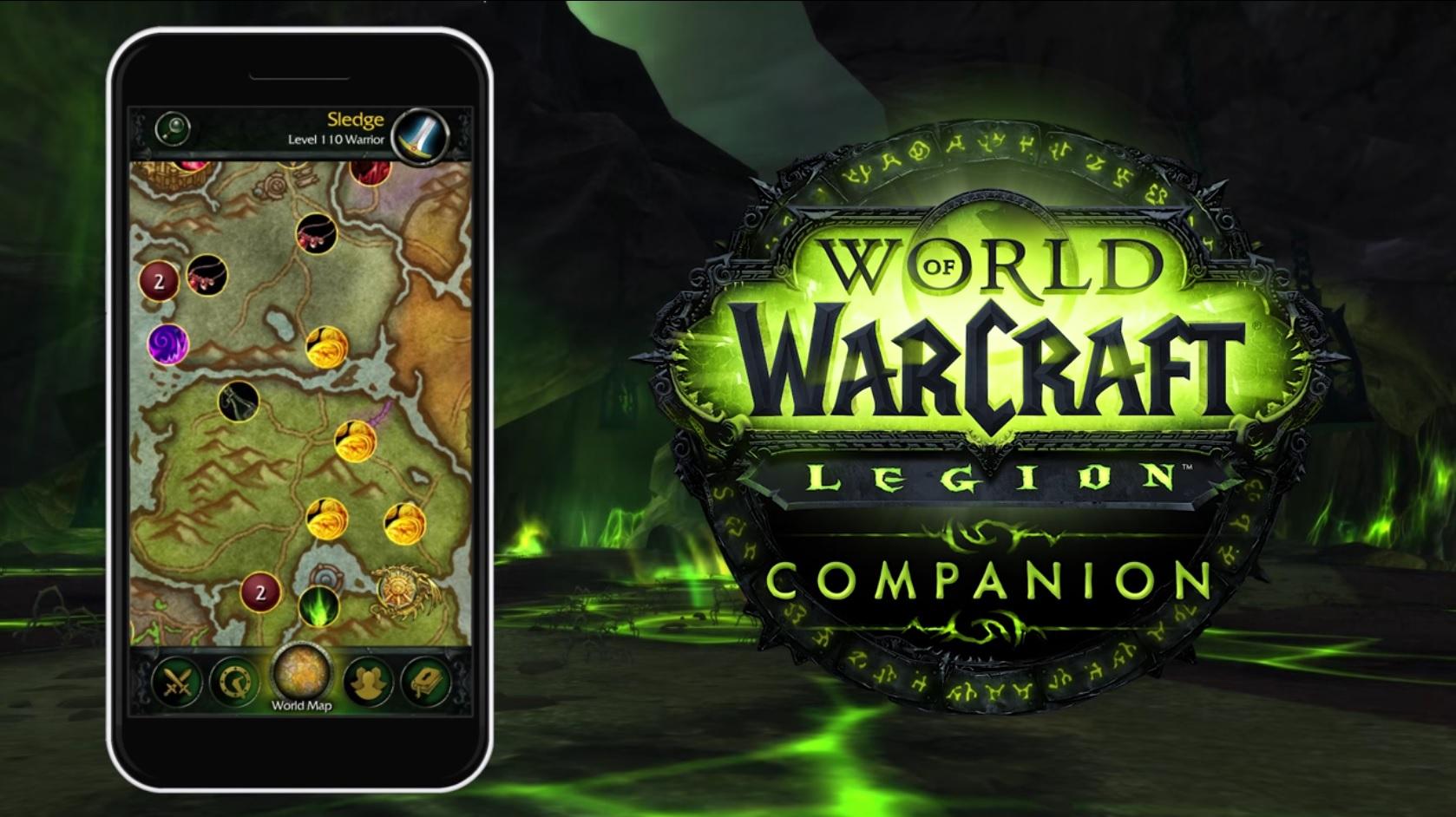 WoW: Legion – Erste Erfahrungen mit der Companion App