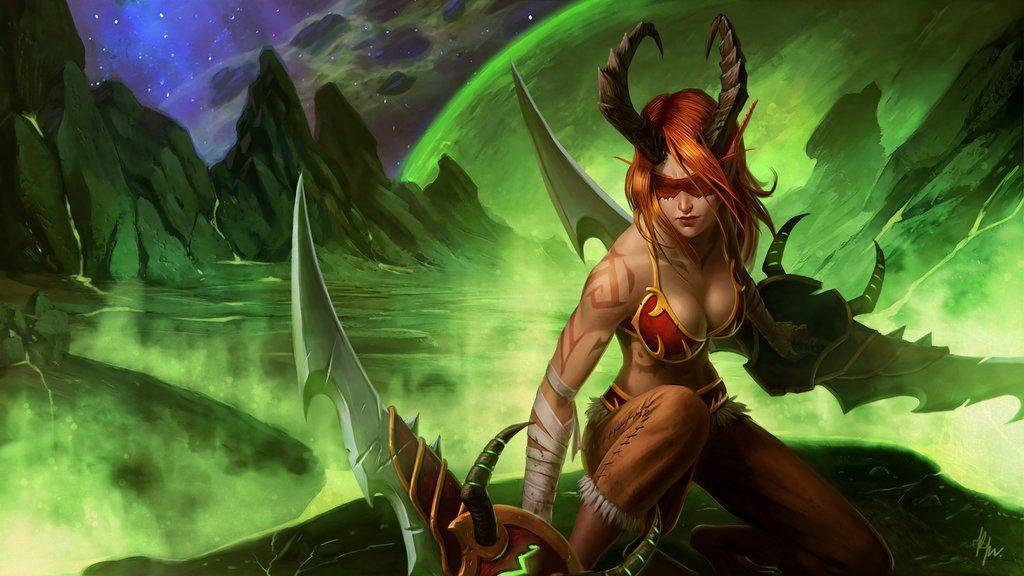 WoW Legion Demon Hunter KostanRyuk