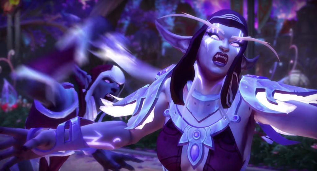 WoW Legion Suramar Thalyssra Rebellion