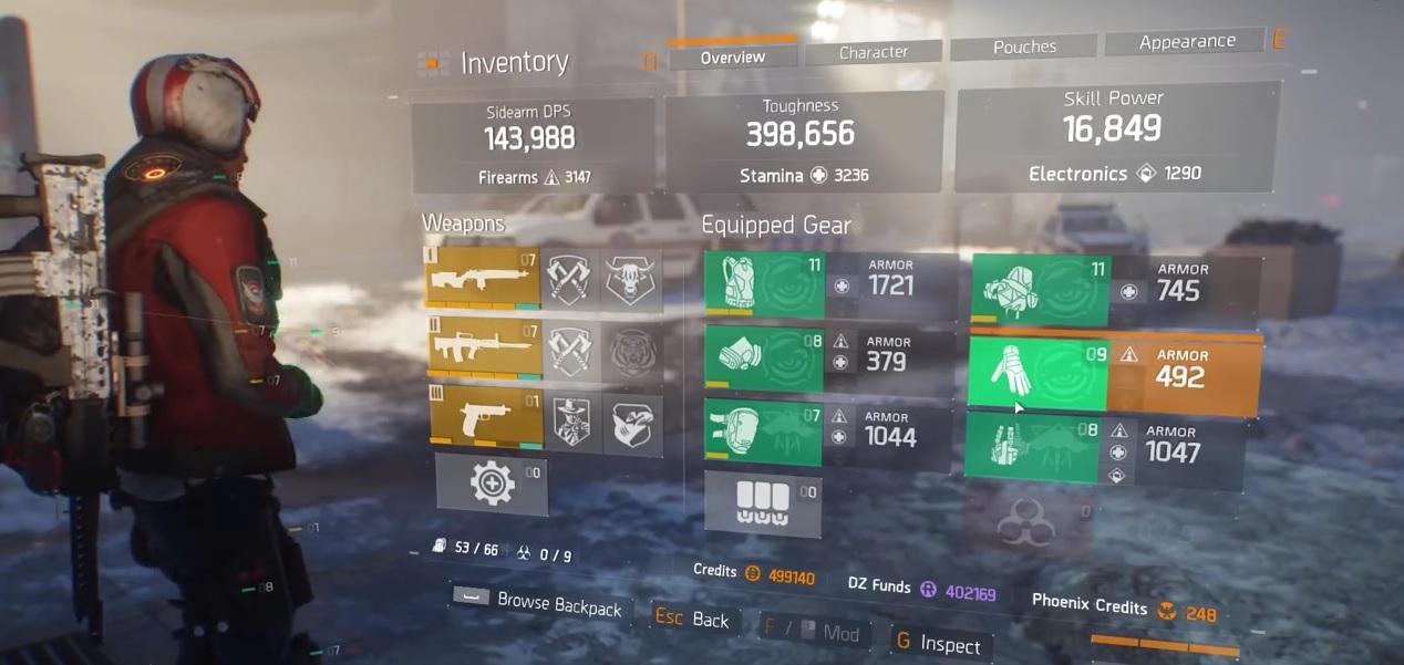 """The Division: Alle """"Gear Set""""-Änderungen mit 1.4 – Gewaltige Buffs und Nerfs"""