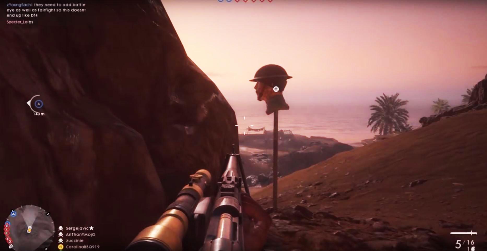 Battlefield 1: Fies! Mit der Sniper-Attrappe schießen Eure Gegner ins Leere