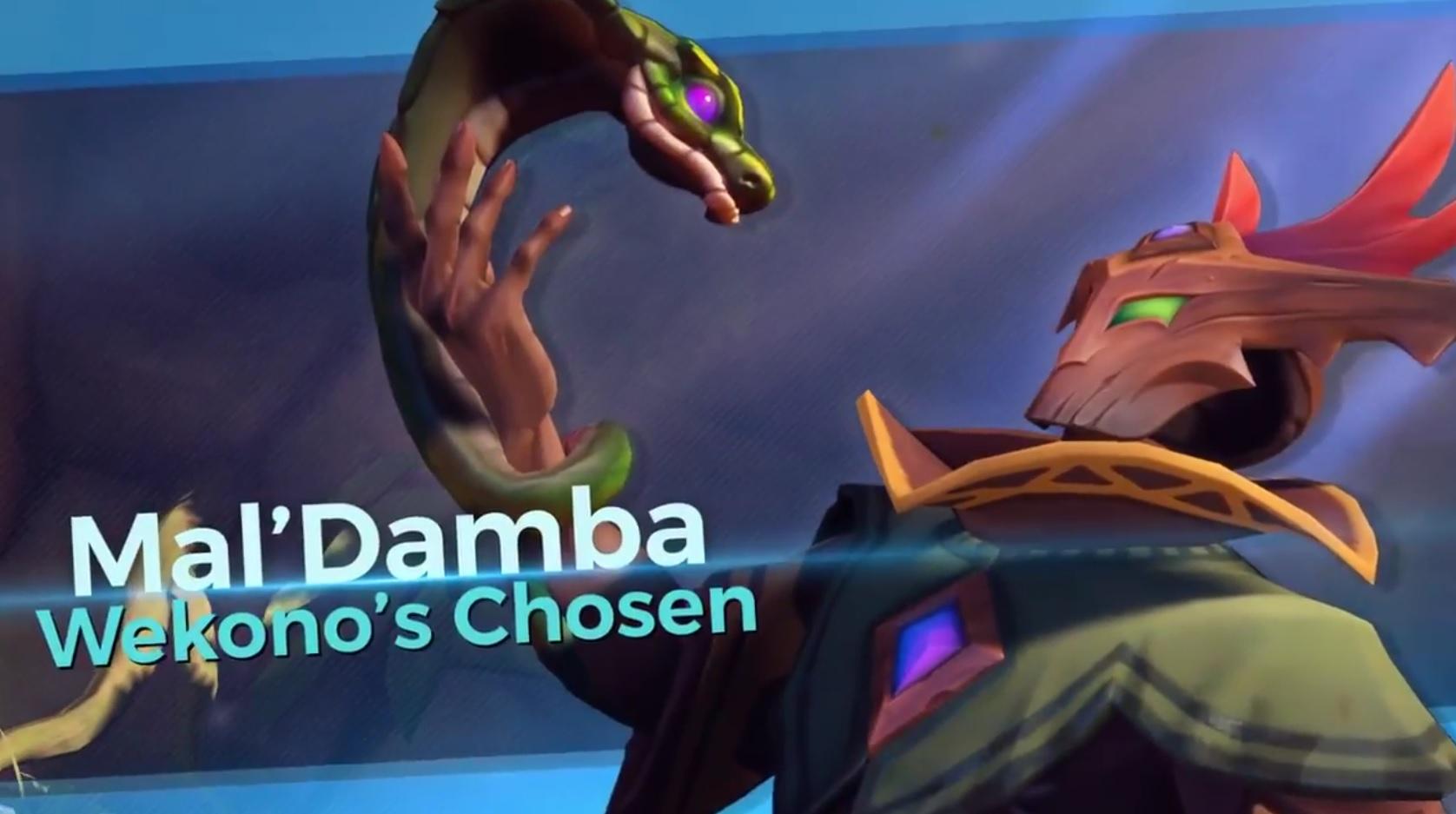 Paladins: Neuer Held Mal'Damba lehrt Euch das Fürchten