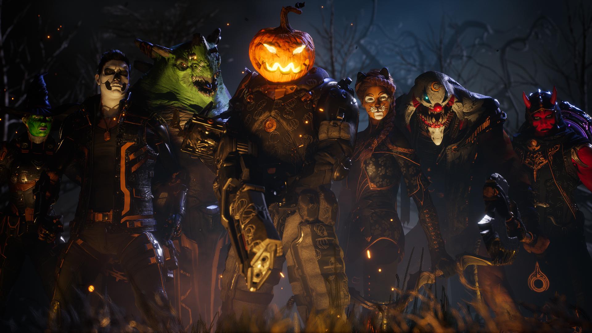 """Paragon: Grusel-Skins zum Halloween-Event """"Schattennacht"""""""