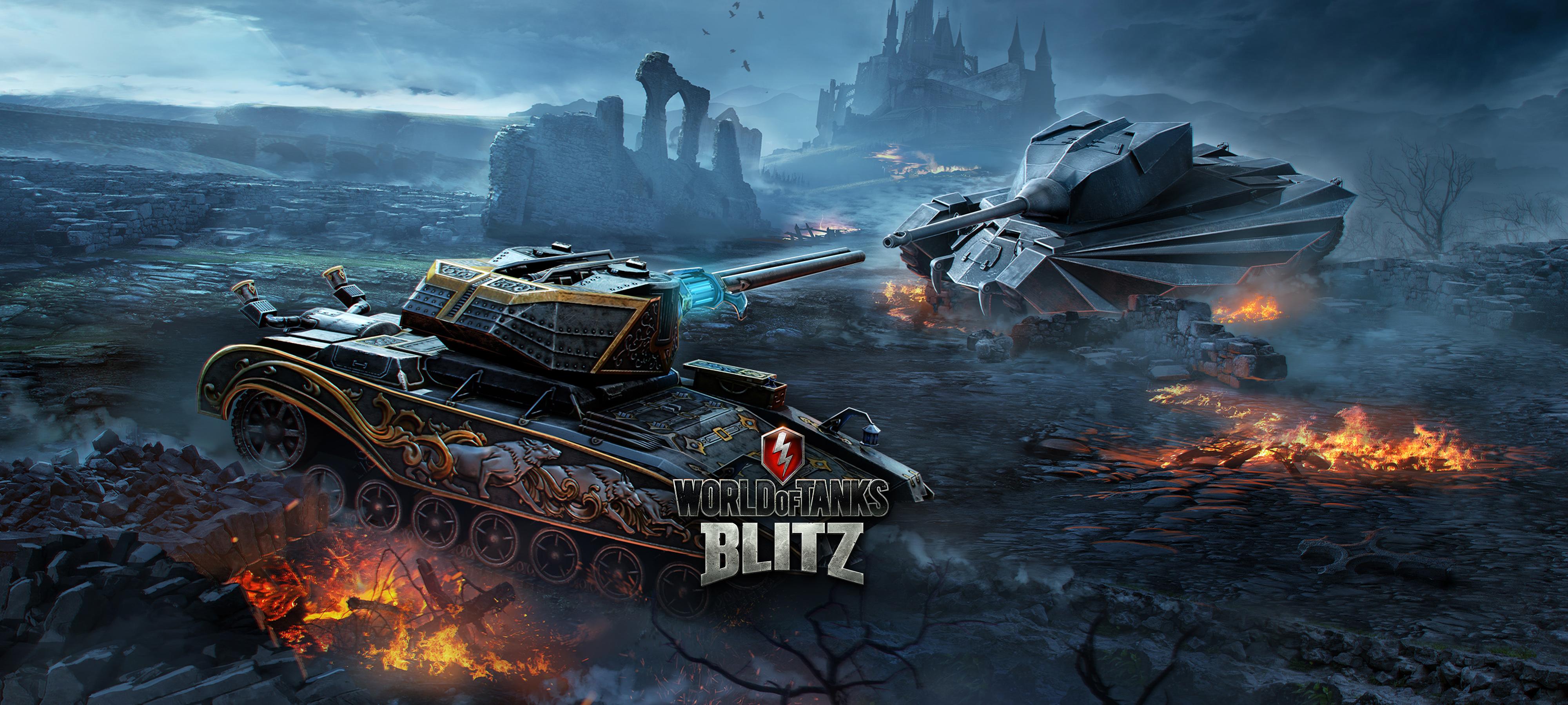 World of Tanks Blitz: Halloween mit Dracula- und Van-Helsing-Panzer sowie coolem Trailer!