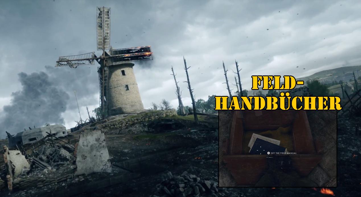 Battlefield 1: Feldhandbücher finden – Das sind die Locations