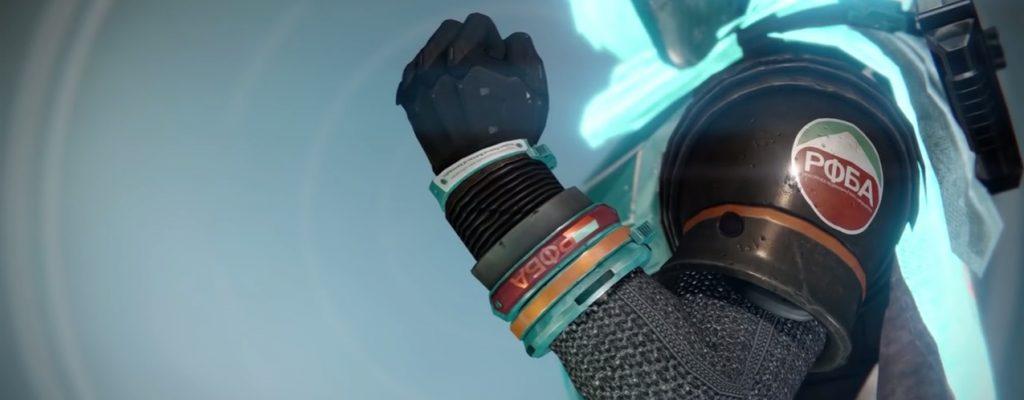 Destiny: Shinobus Gelöbnis – Granatenmäßige Jäger-Handschuhe