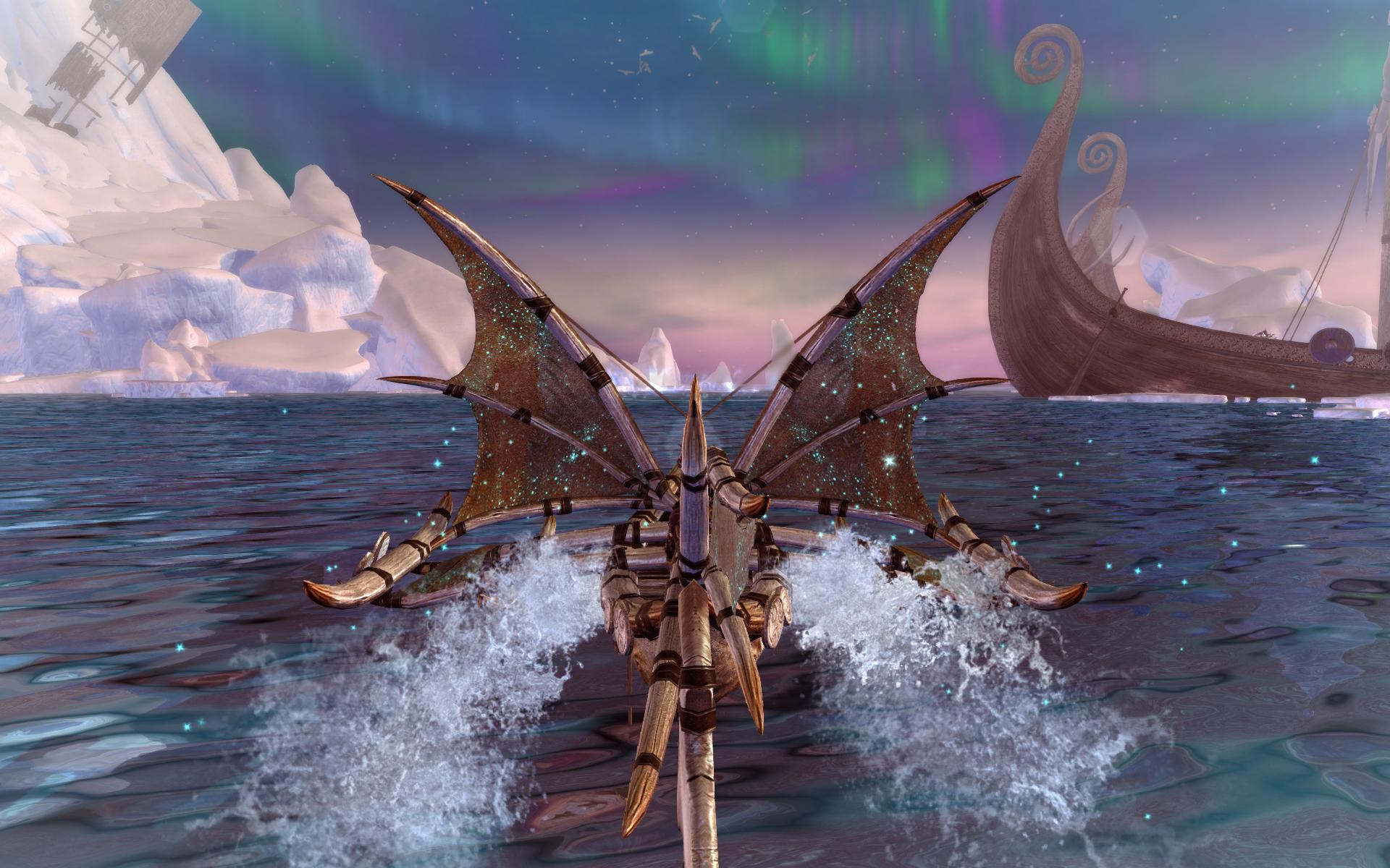 Neverwinter: Eisangeln und Schifffahrten – Update Sea of Moving Ice bringt neue Aktivitäten mit sich