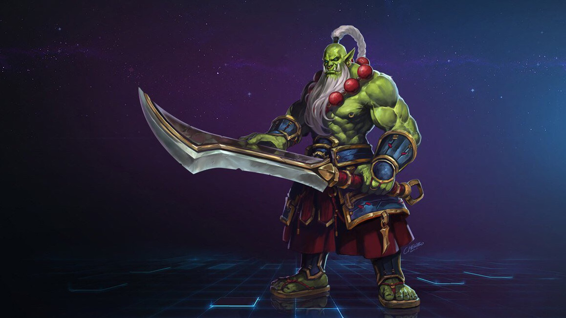 Heroes of the Storm: Klingenmeister-Orc Samuro aus Warcraft 3 angekündigt