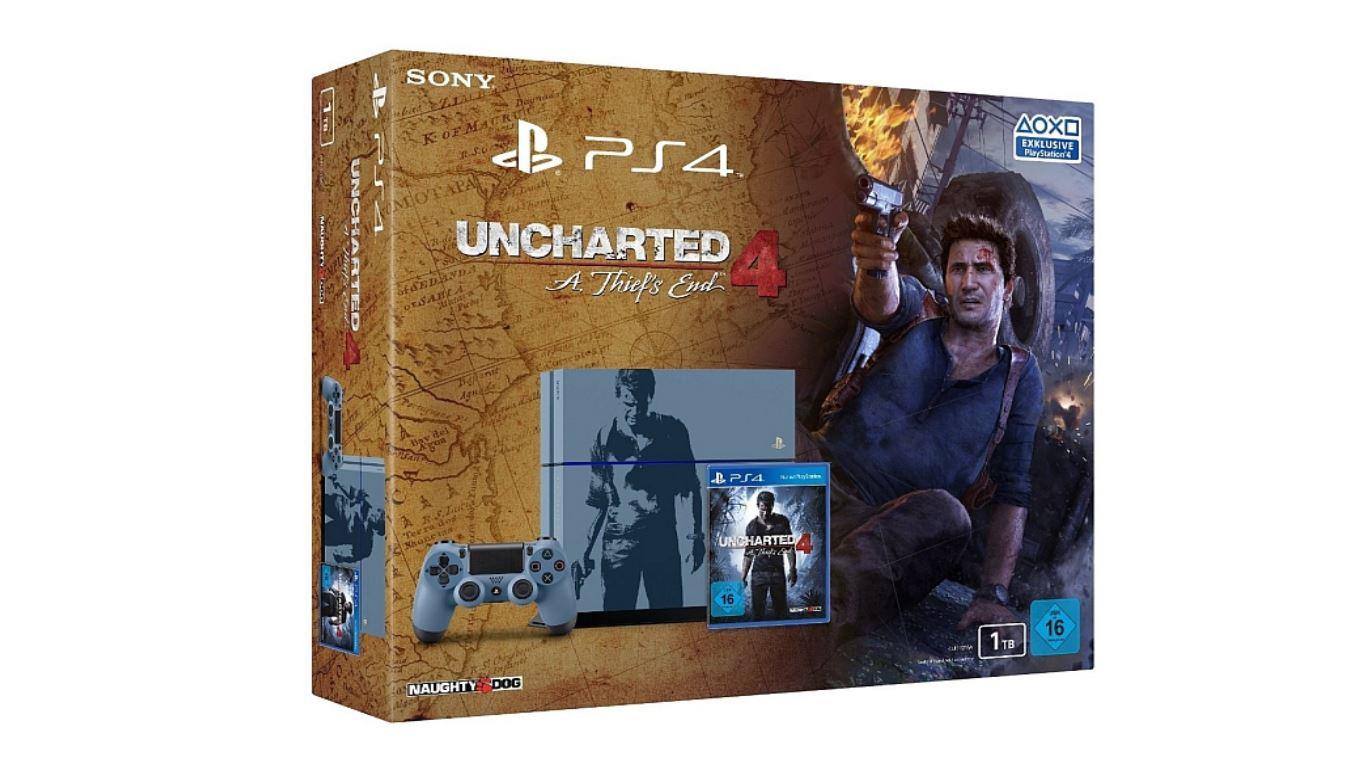 Amazon-Angebote am 8. Oktober: Playstation 4 1TB Uncharted Edition für 299€