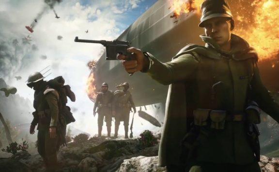 Battlefield 1 Pistole Zeppelin