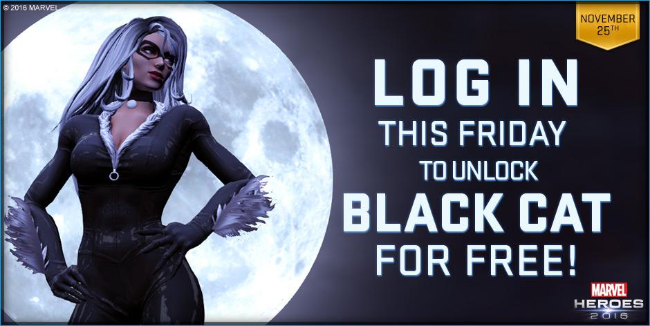 Marvel Heroes: Black Cat zum Black Friday – Black Panther wär wohl zu heikel