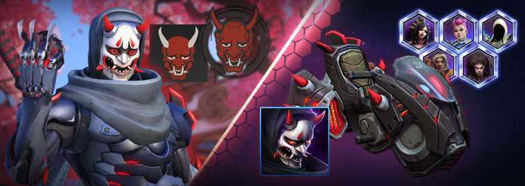 Overwatch: Holt euch die Genji-Oni-Skin in Heroes of the Storm