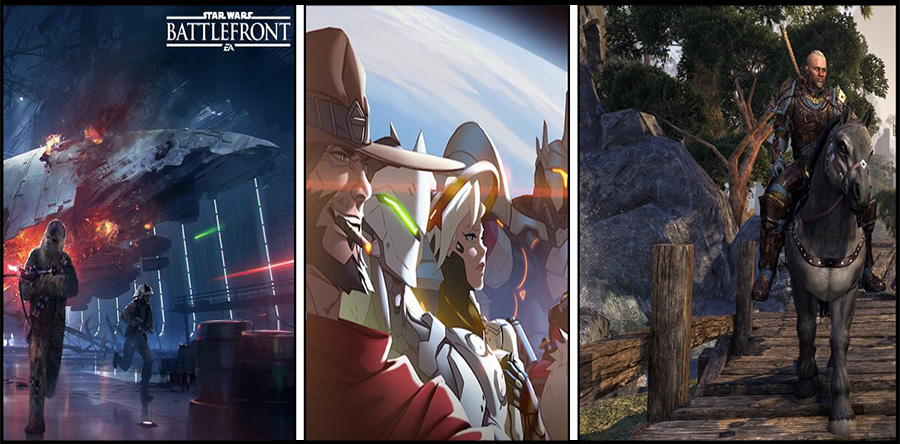 Top-MMOs kostenlos – Schnupper-Wochenende in Overwatch, ESO, Battlefront