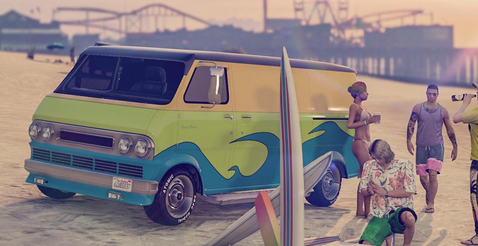 GTA 5 Online: Bravado Youga Classic – A-Team-Van oder Surf-Bus?