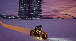 GTA 5 Tron Motorrad Skin