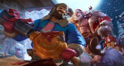 League of Legends Weihnachten Skins Braum Graves