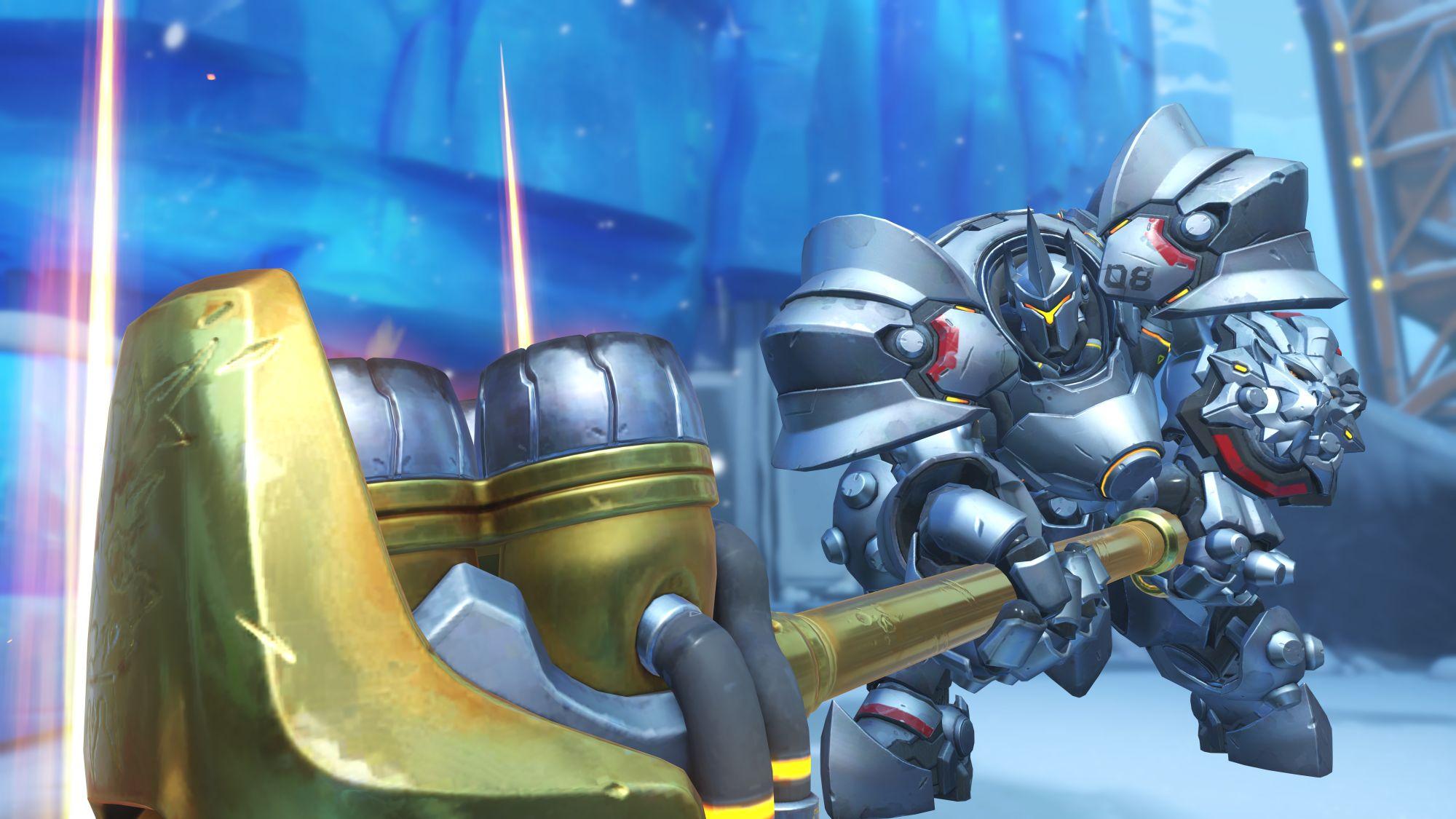Overwatch: Gigantischer Tank kann nicht mal ein Stopp-Schild überfahren