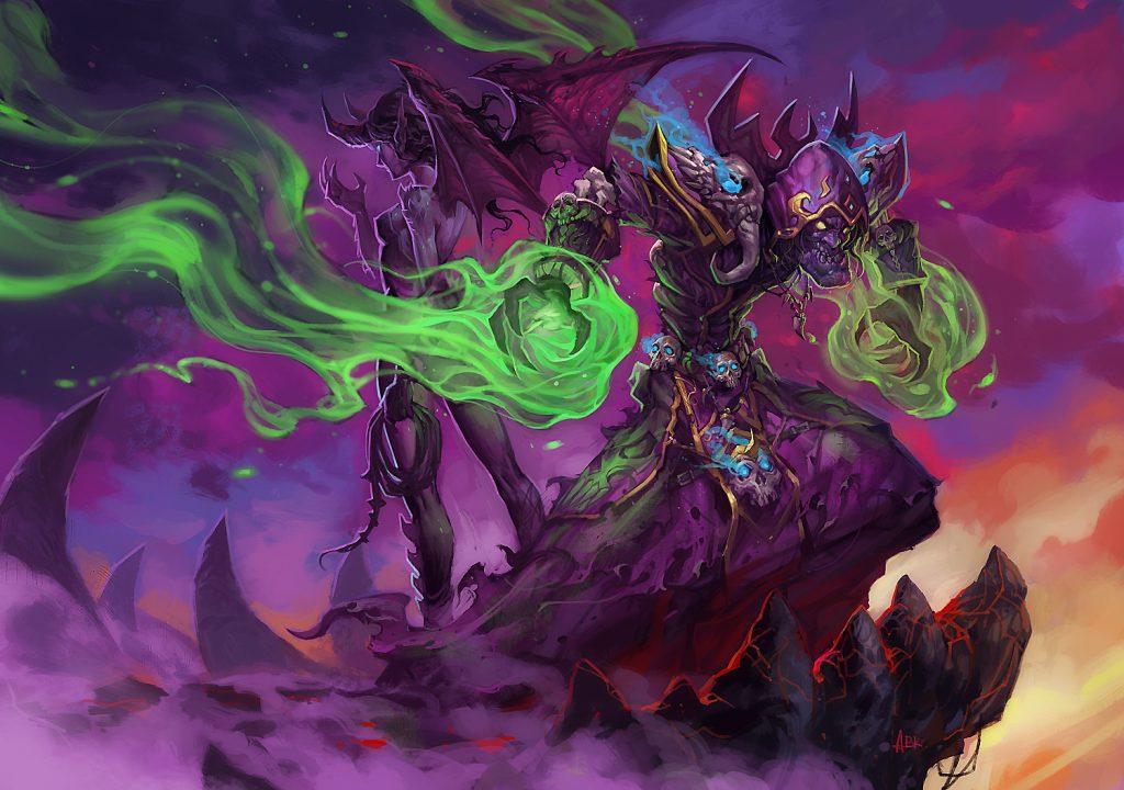 WoW Legion Warlock succubus