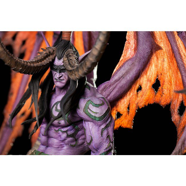 WoW: Legion – Illidan als Hauswächter – Edle Statue mit saftigem Preis