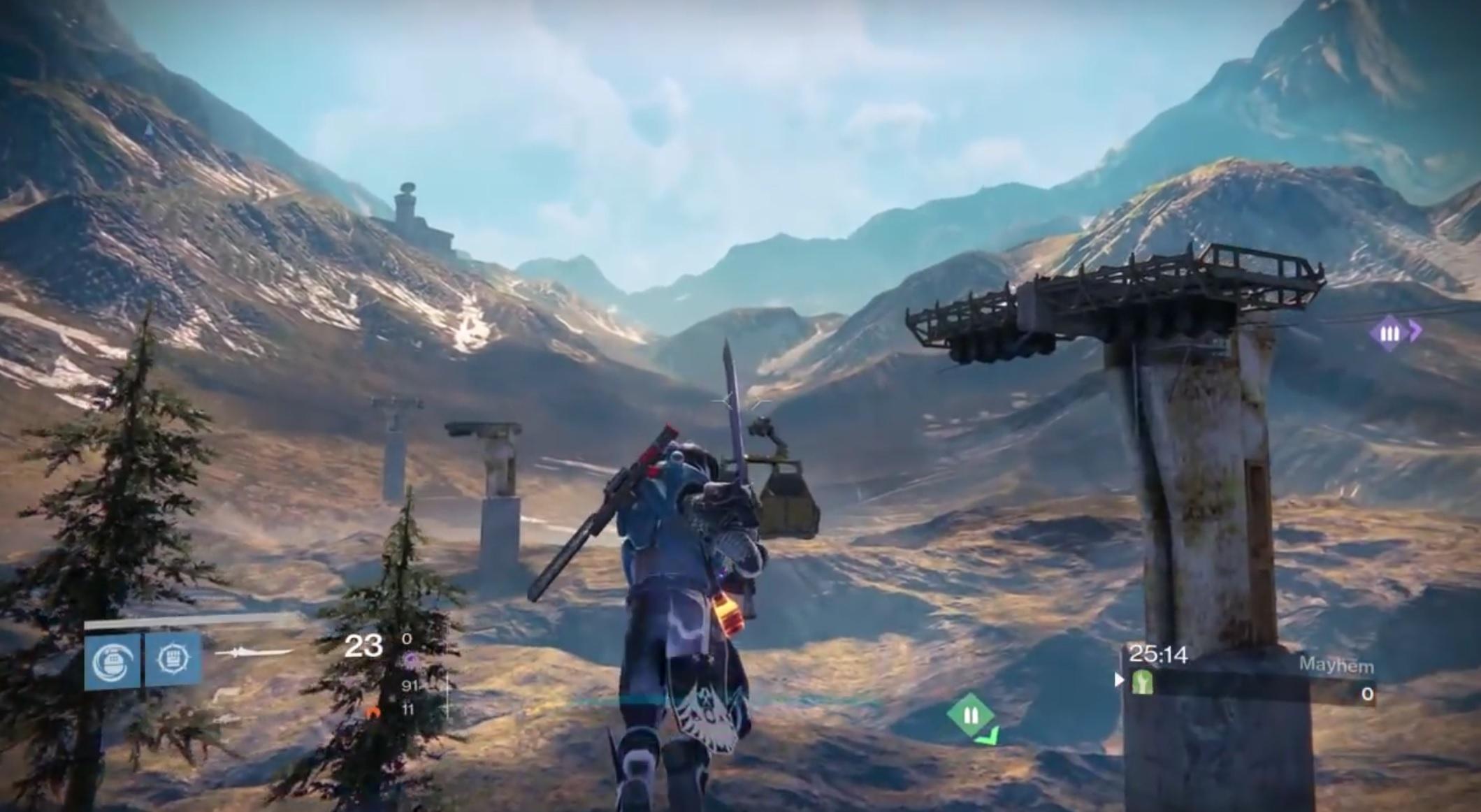 Destiny: Sprengt die Grenzen! So weit könnt Ihr eine PvP-Map verlassen
