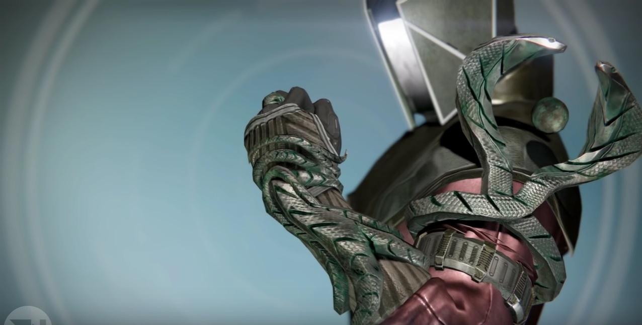 """Destiny: Ophidianischer Aspekt – Handschuhe für Warlocks, die auf """"Handarbeit"""" setzen"""