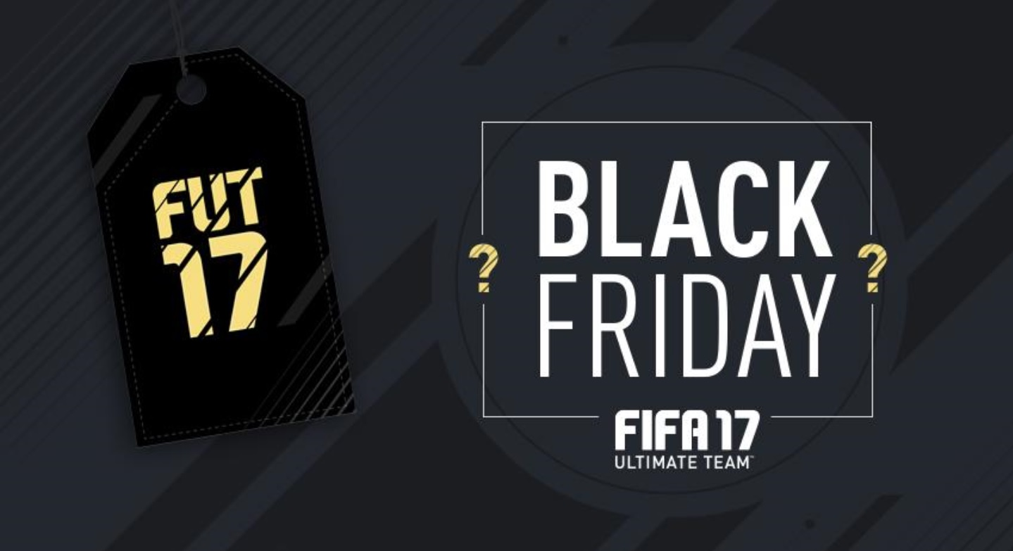 FIFA 17: Black Friday – Packs, Events und Cyber-Sale-SBCs in FUT 17