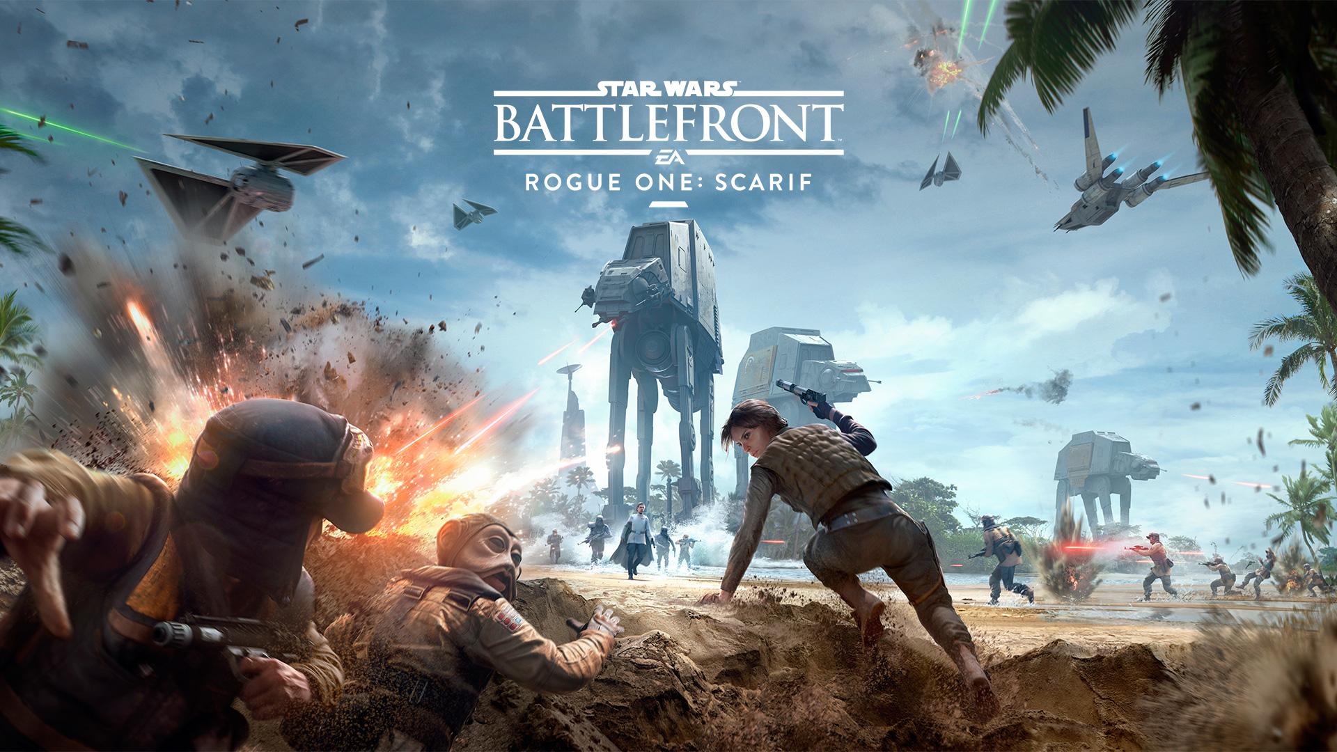 Star Wars: Battlefront – Trailer zum DLC Rogue One: Scarif lässt es krachen!