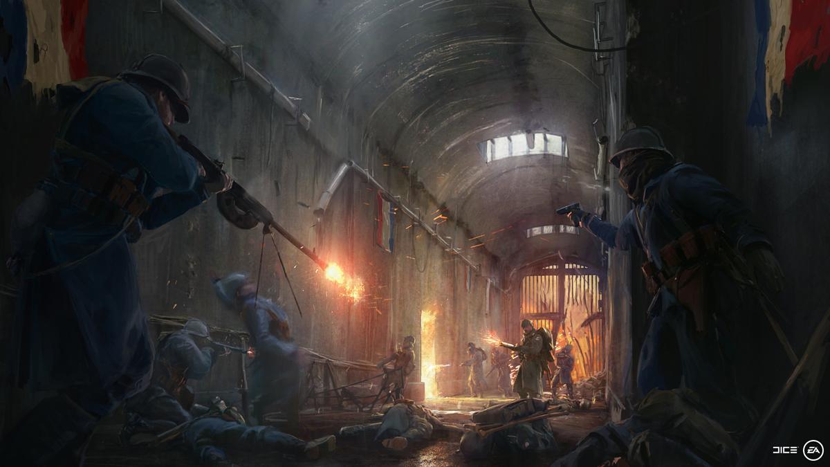 Battlefield 1: Die Franzosen kommen! Erster Teaser für DLC They Shall Not Pass