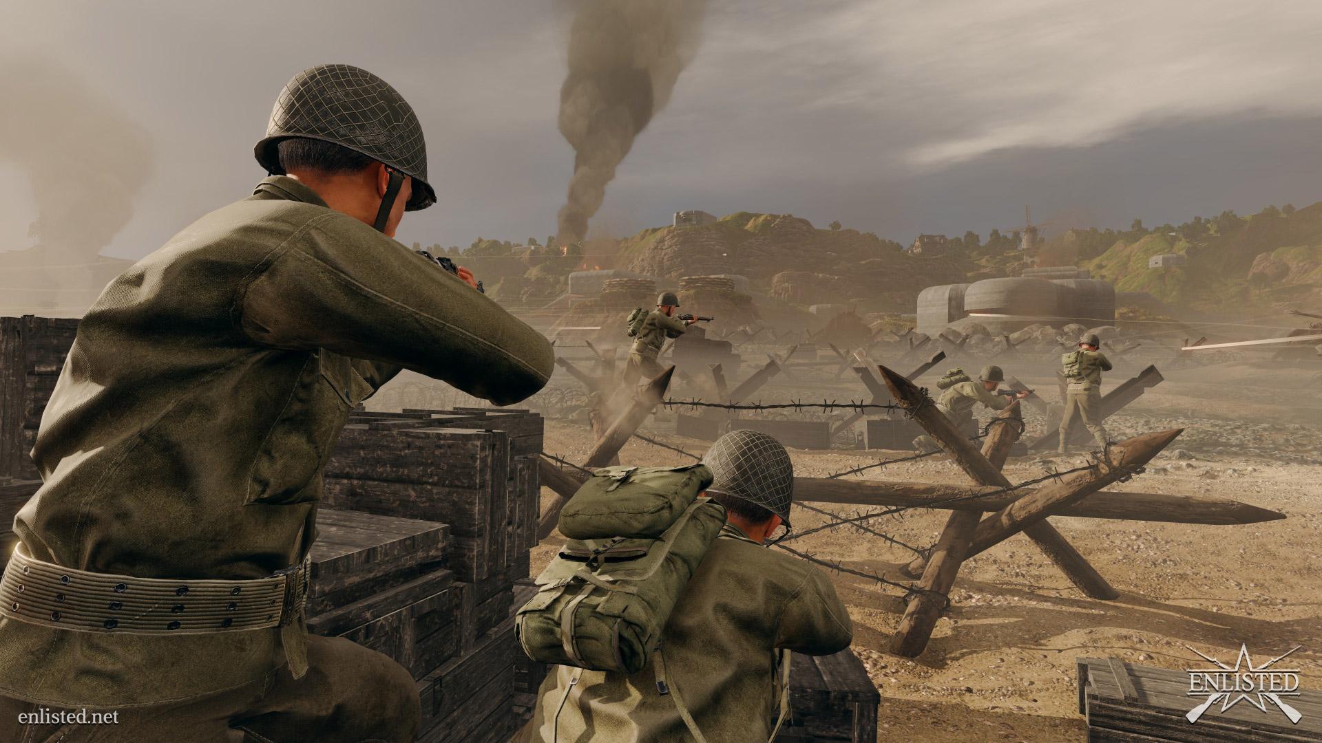 Enlisted: Battlefield als MMO? Neuer Shooter stellt Zweiten Weltkrieg in den Fokus