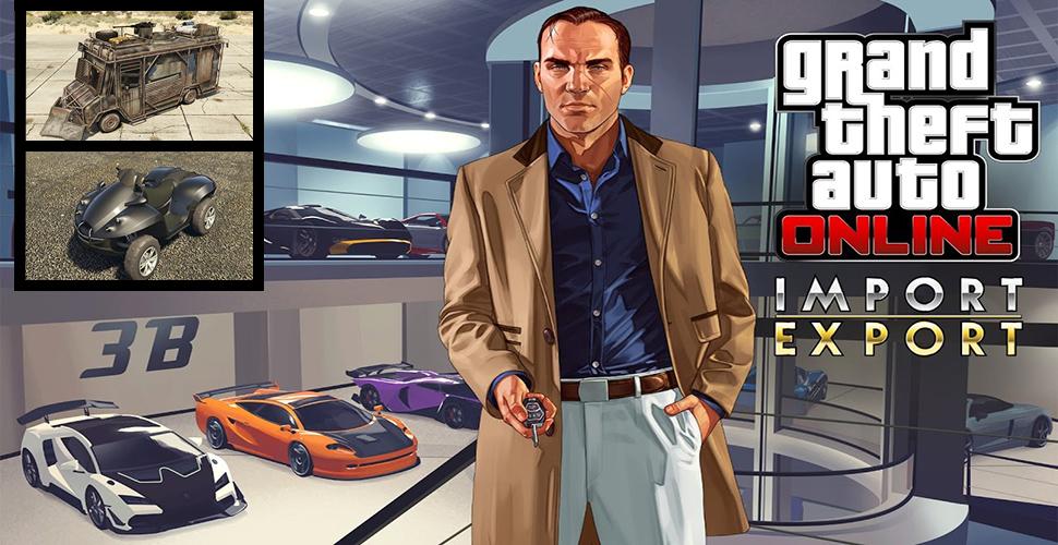 GTA 5 Online: Die 5 coolsten Autos aus dem neuen Import/Export-DLC
