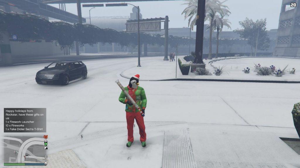 GTA 5 Online Schnee