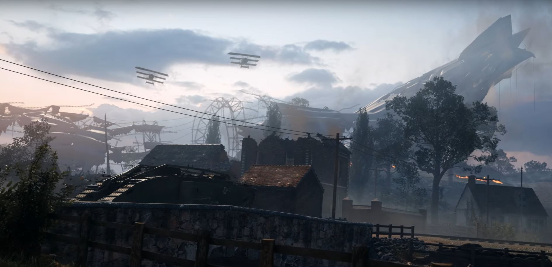 """Battlefield 1: Neuer Trailer stellt Gratis DLC mit Map """"Giant's Shadow"""" vor"""