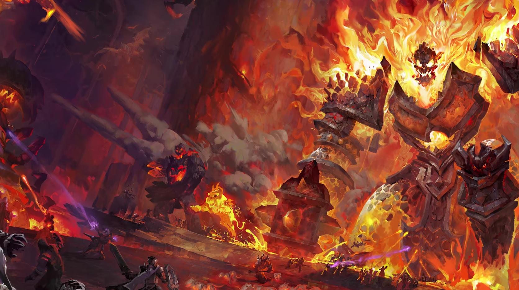 """Heroes of the Storm: """"STERBT, INSEKT!"""" – Ragnaros jetzt auf dem PTR"""