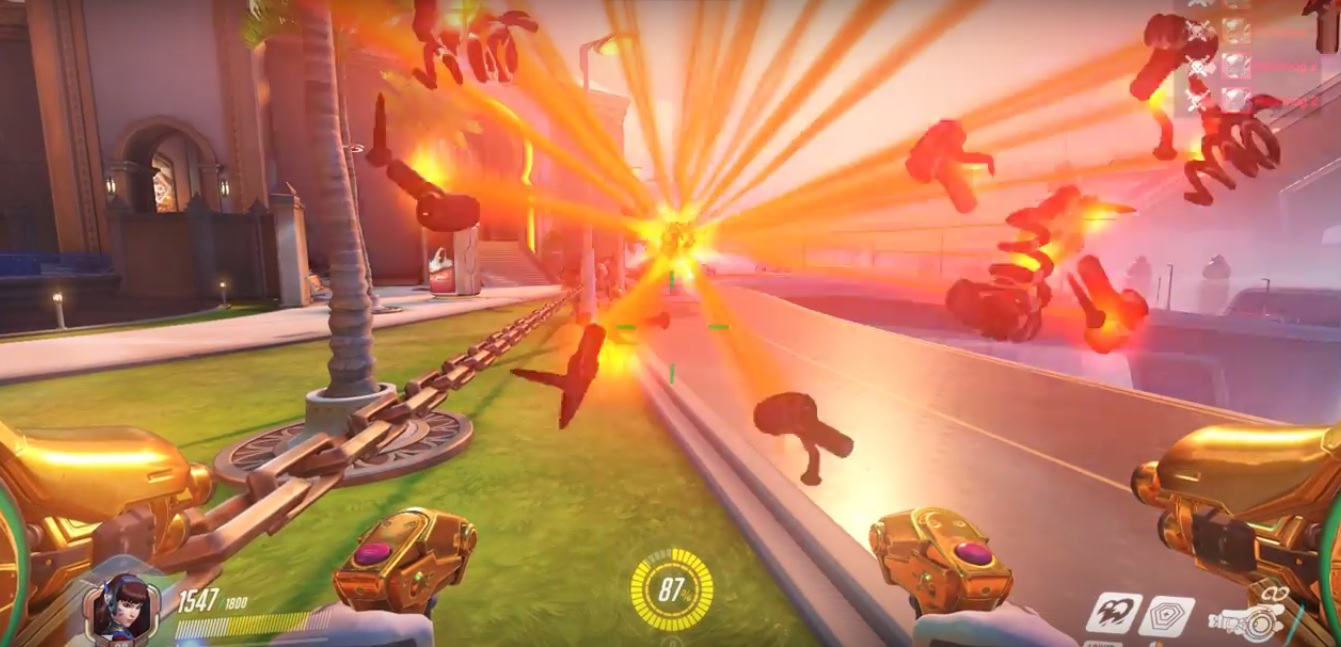 Overwatch: Schon mal Roadhog-Pizza gesehen? Spieler führt Schweinchenherde in sicheren Tod