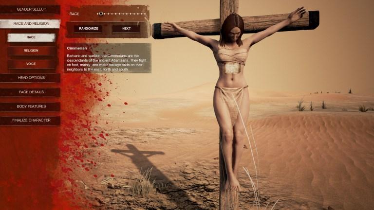 Conan Exiles: Die Charaktererstellung – Eure Verbrechen bestimmen, wer Ihr seid