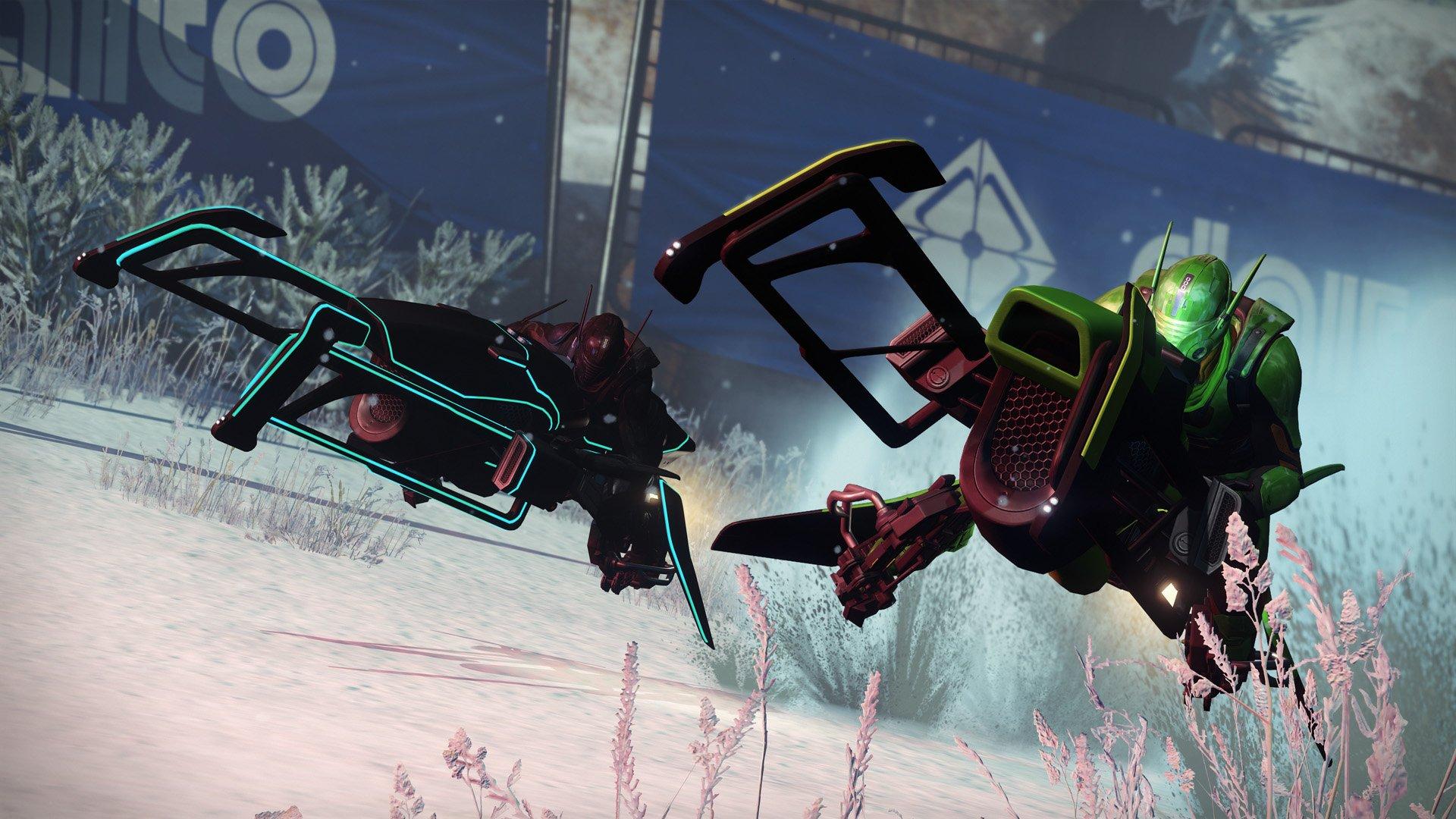 Destiny SRL: 5 Tipps, mit denen Ihr ein Sparrow-Rennen gewinnt