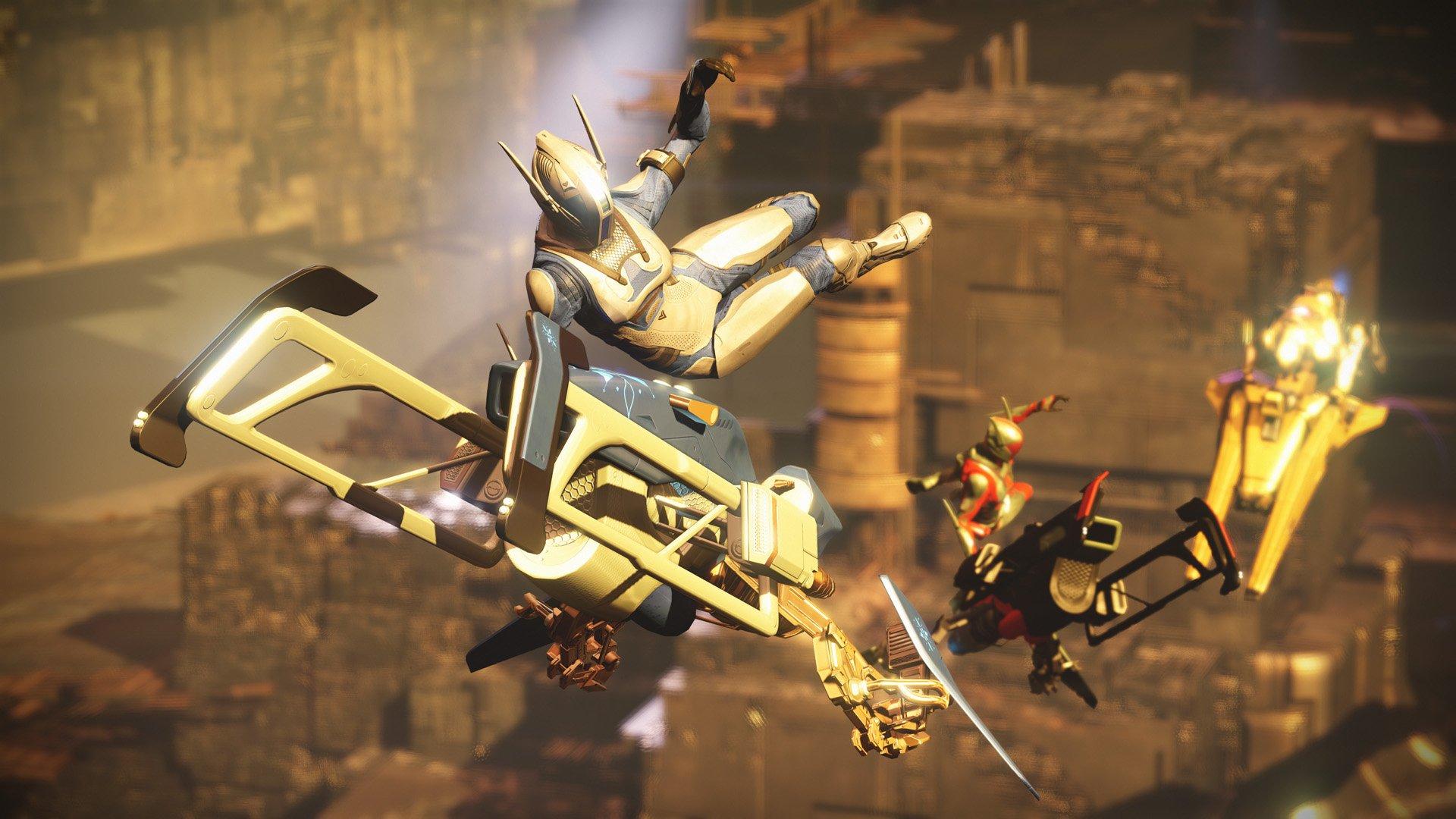 Destiny: SRL-Kunststücke – So führt Ihr Sparrow-Tricks aus