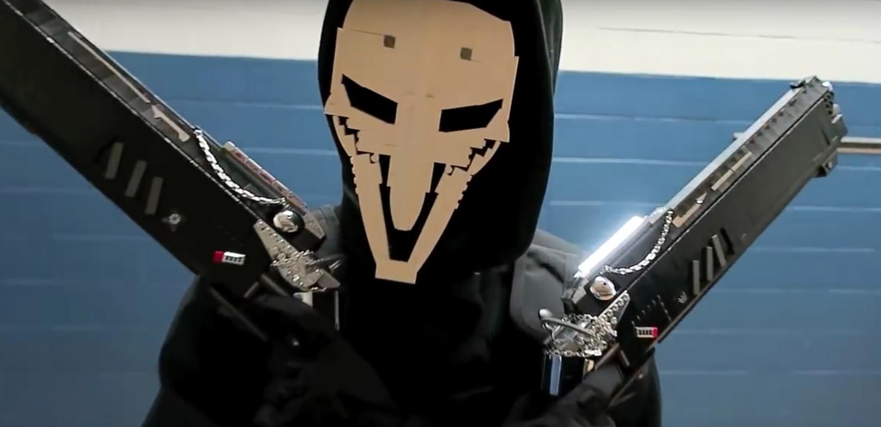Overwatch: Zu schön zum Wegwerfen – Reapers Shotguns aus LEGO