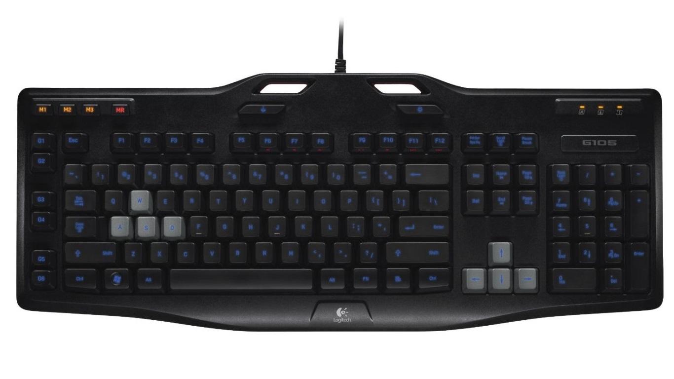 Amazon-Angebote am 26.1.: Logitech G105 preiswerte Gaming-Tastatur