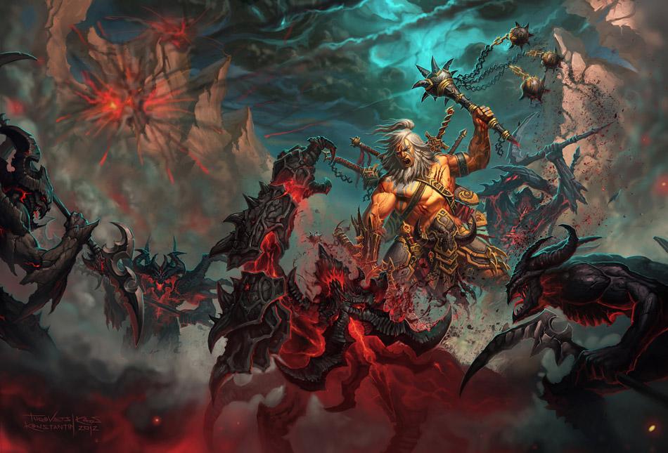 Diablo 3 Barbar Titel