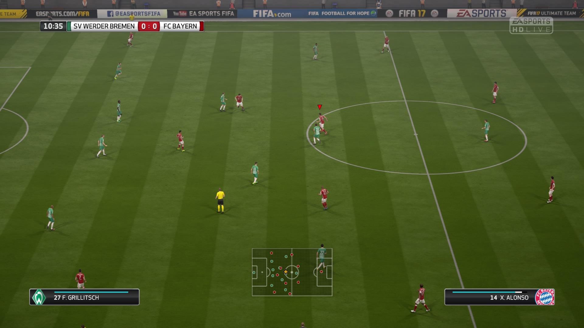 FIFA 18: Die beste Kameraeinstellung in Online-Matches für FUT & Co