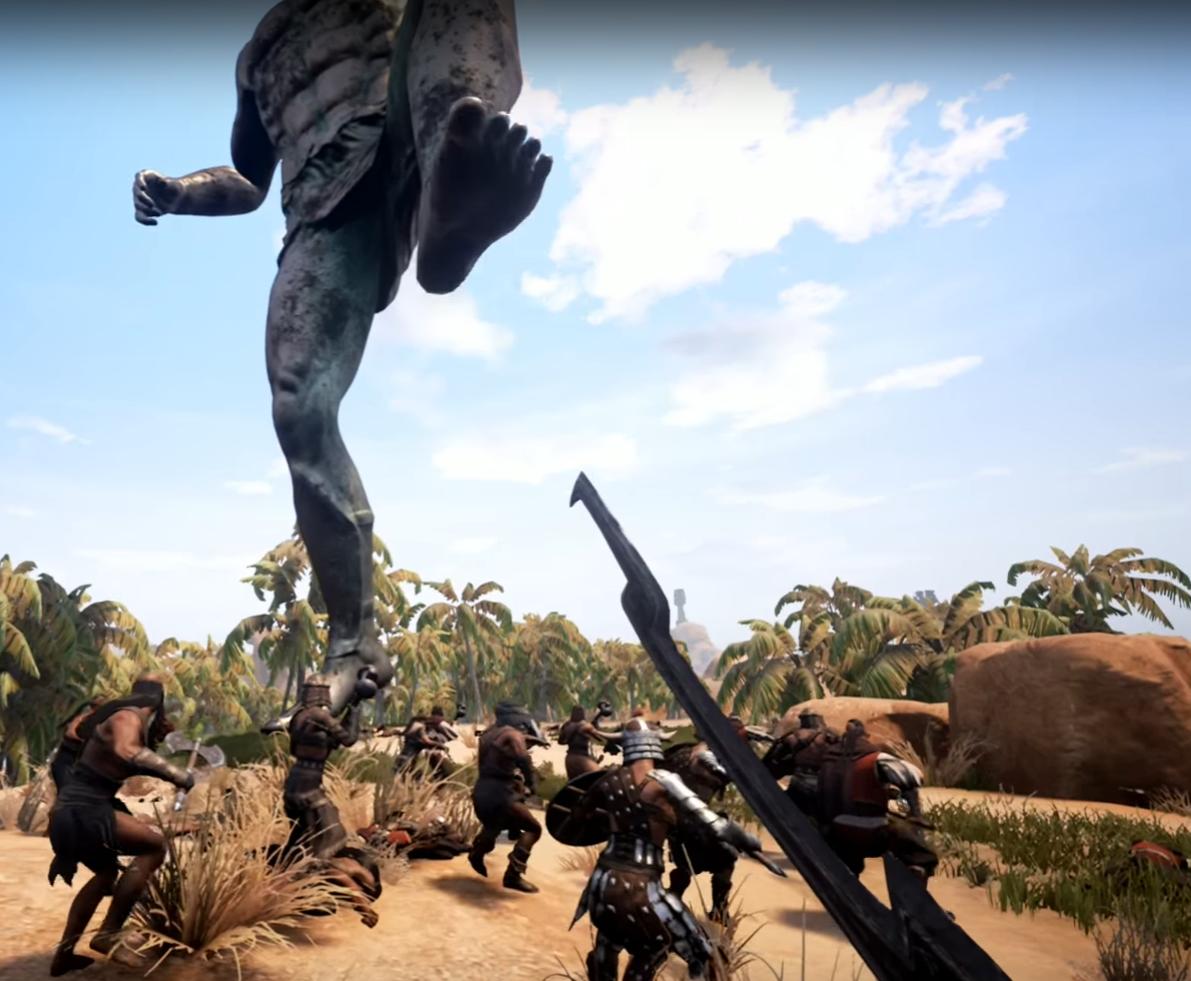 Conan Exiles: Komplette Zerstörung im PvP