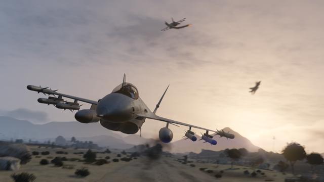 GTA 5 Online Jet Flugzeug
