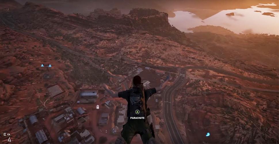 Ghost Recon Wildlands: Tod von oben – Stürzt Euch aus dem Heli ins Gefecht!