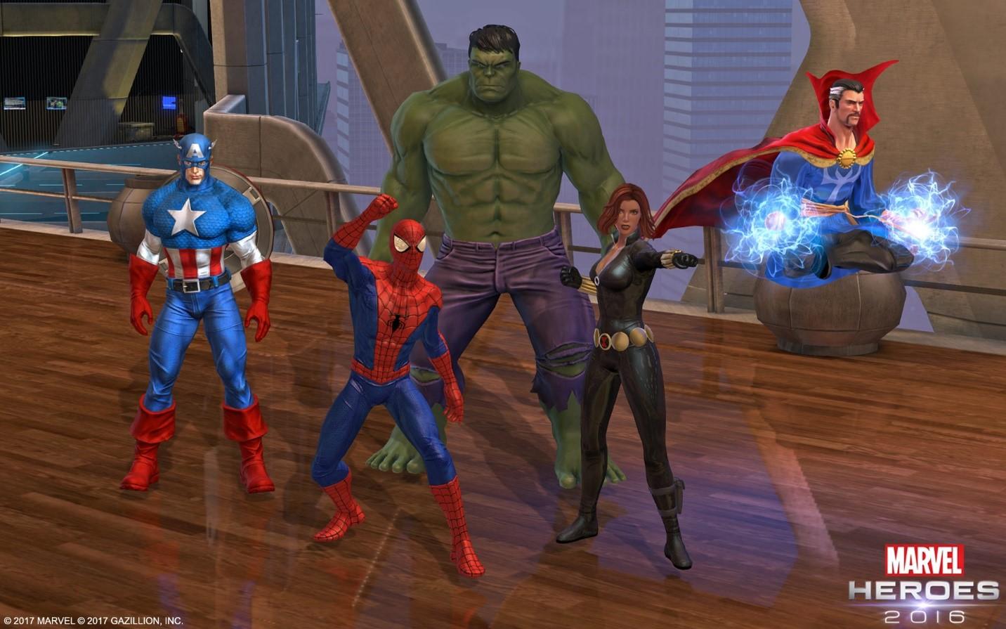 Marvel Heroes wird 2017 noch mehr wie ein Diablo-MMO mit Superhelden