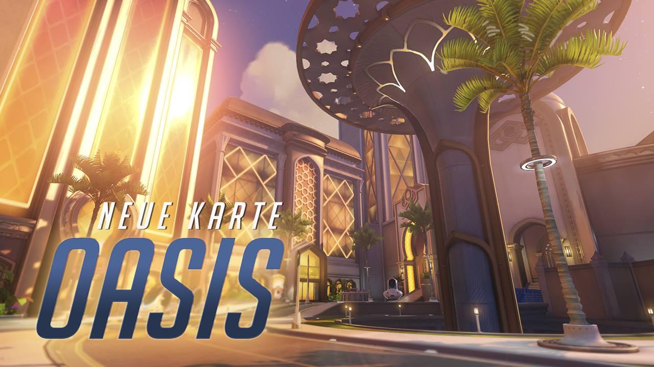 Overwatch: Neue Map Oasis ist live, spielt im Irak – Nicht nur Spieler sind hier gefährlich
