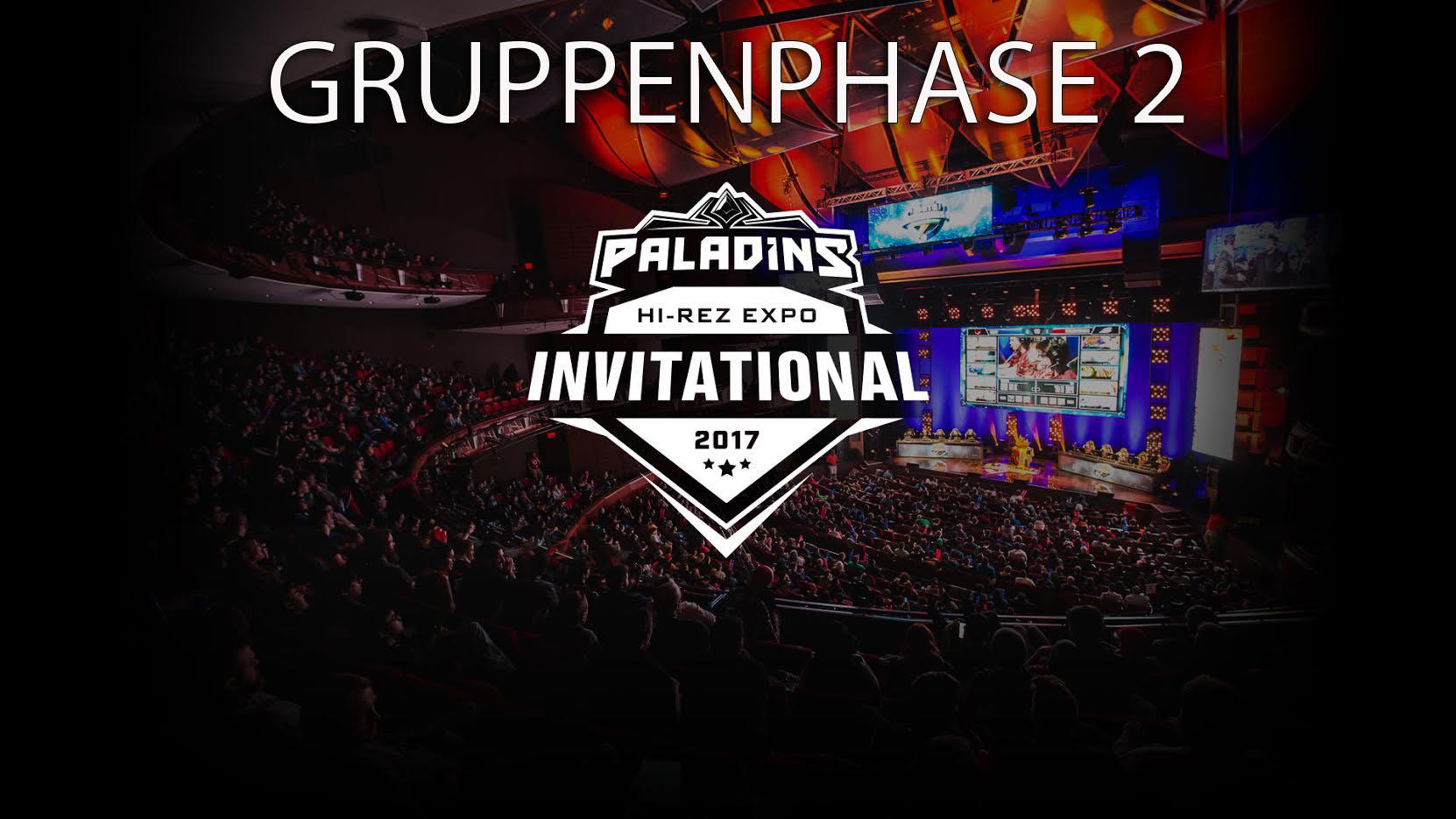 Paladins: Jetzt hier live zuschauen – HRX Invitational 2017 – 8 Teams kämpfen um 150.000$ – Gruppe 2