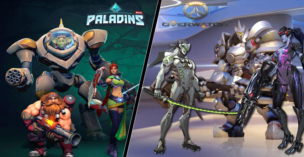 Paladins vs Overwatch – So unterscheiden sich die Heldenshooter