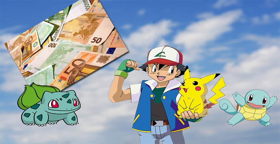 Pokémon GO macht 2.254,28 Euro Umsatz – in der Minute!