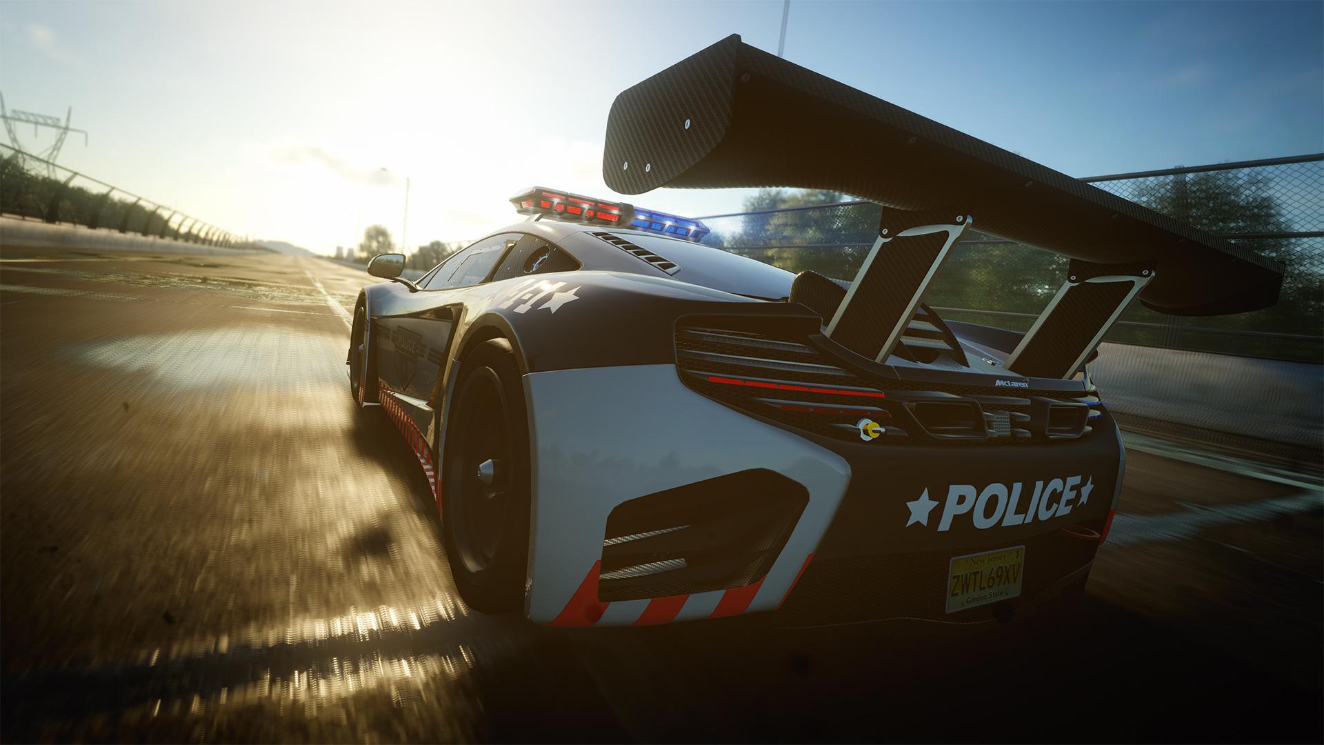 The Crew: Januar-Patch bringt McLaren 12C GT3 für Polizei